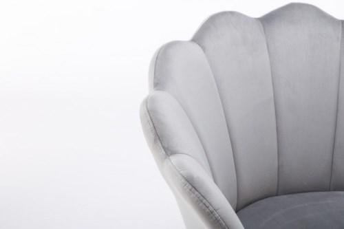 fotele gabinetowe muszelka szare