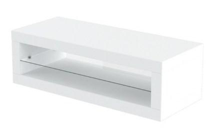Biały stolik - ława do poczekalni.