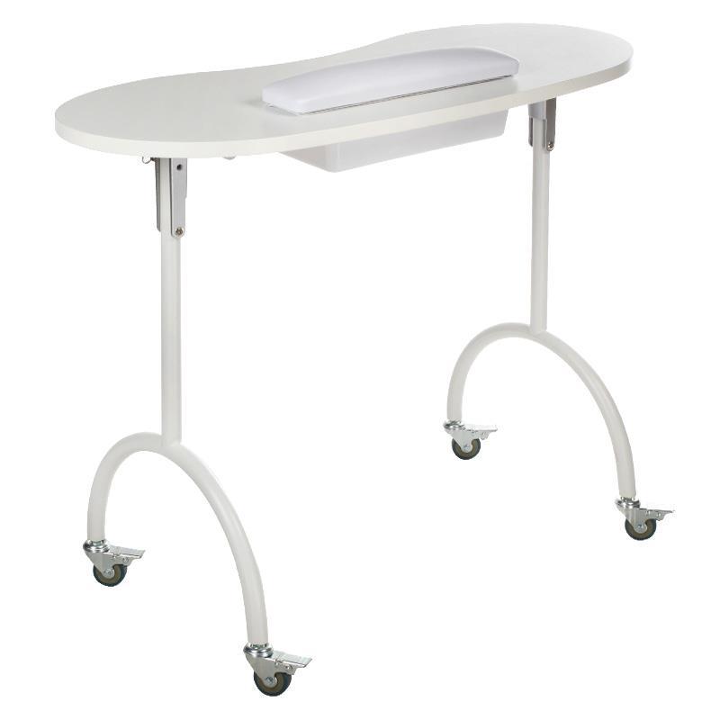 biurko kosmetyczne ze składanymi nogami