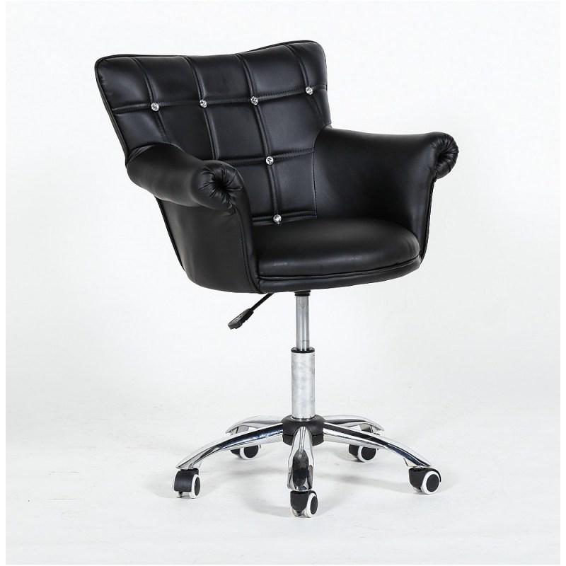 luksusowy salon kosmetyczny to tez eleganckie krzesła kosmetyczne wykonane ze skóry ekologicznej, krzesła LORA CRISTAL ozdobią każdy salon kosmetyczny