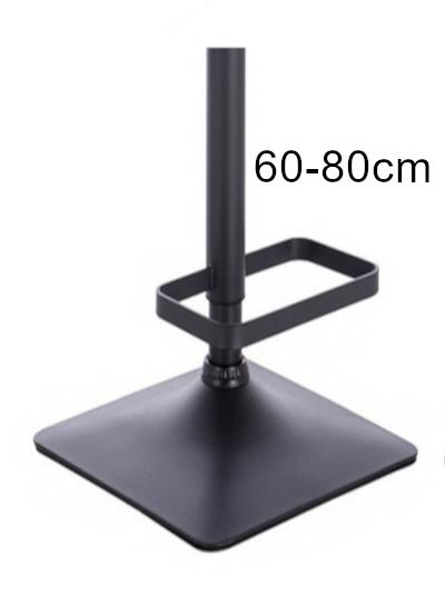 wysoka czarna kwadratowa