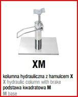 XM - podstawa kwadratowa