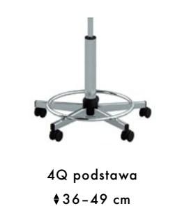 4Q - podstawa pięcioramienna z okręgiem kolumna