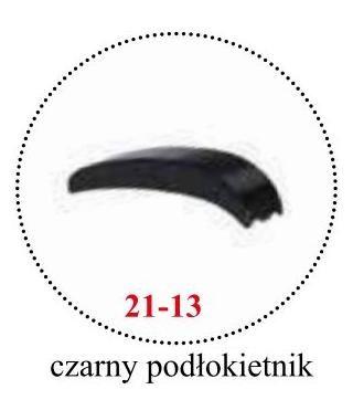 czarny podłokietnik 21-13