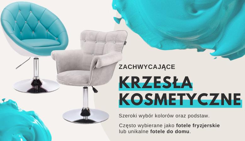 Krzesła kosmetyczne